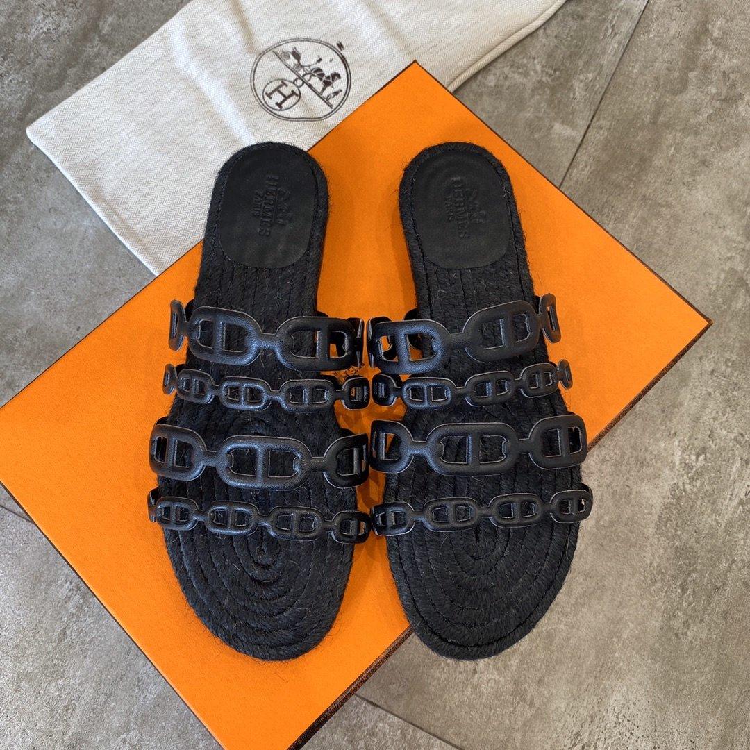 Hermes 2020经典之作专柜同款凉鞋(图8)