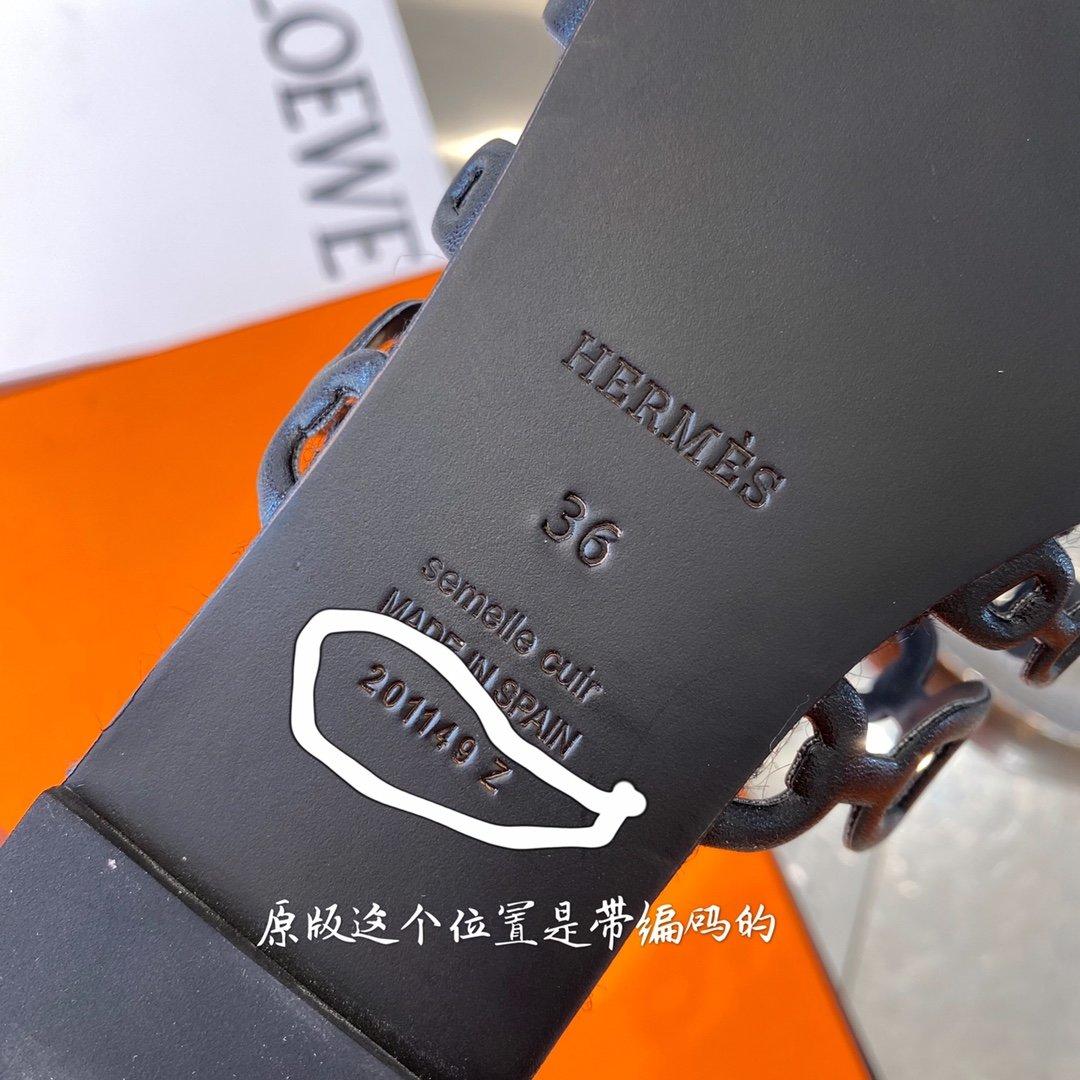 Hermes 2020经典之作专柜同款凉鞋(图5)