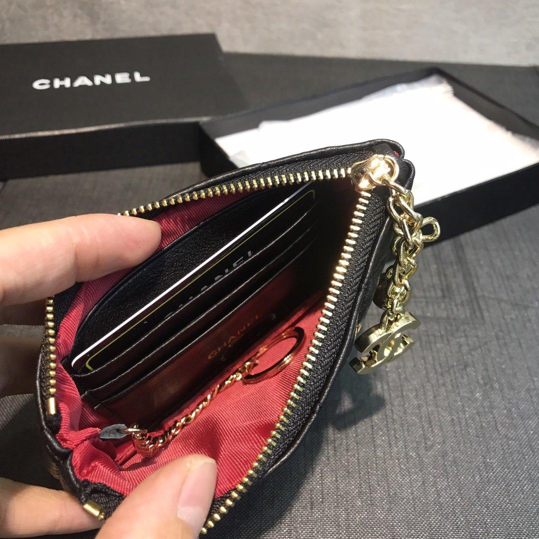 Chanel小香菱格零钱包(图5)