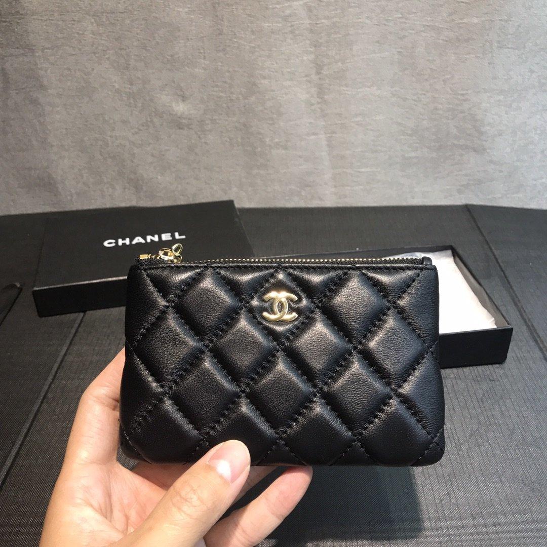 Chanel小香菱格零钱包(图2)
