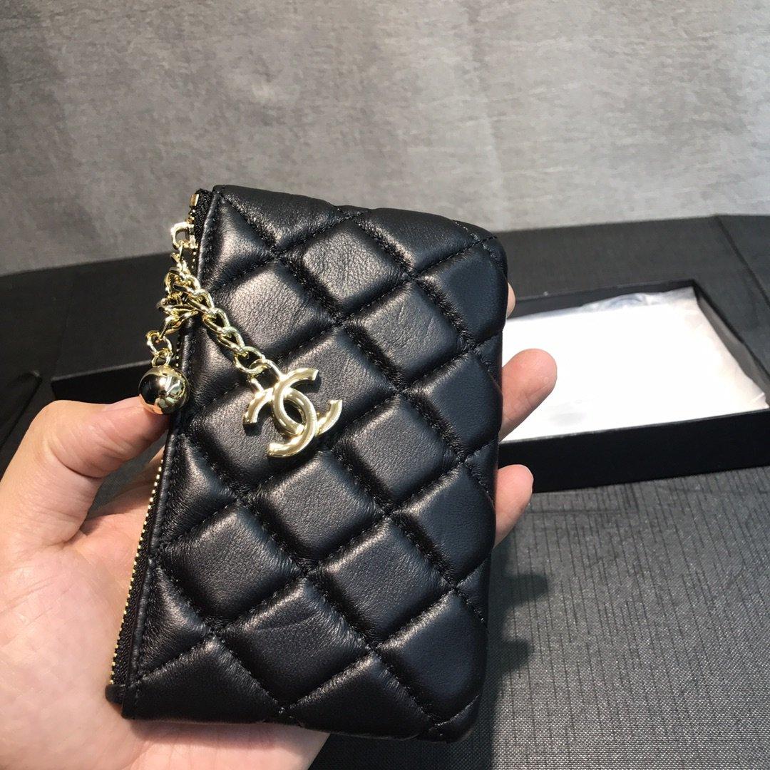 Chanel小香菱格零钱包(图4)