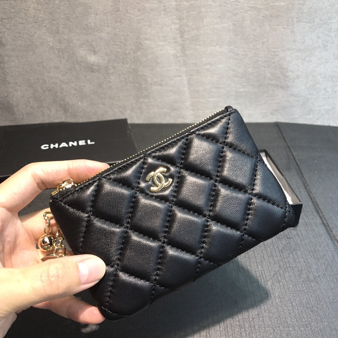 Chanel小香菱格零钱包(图1)