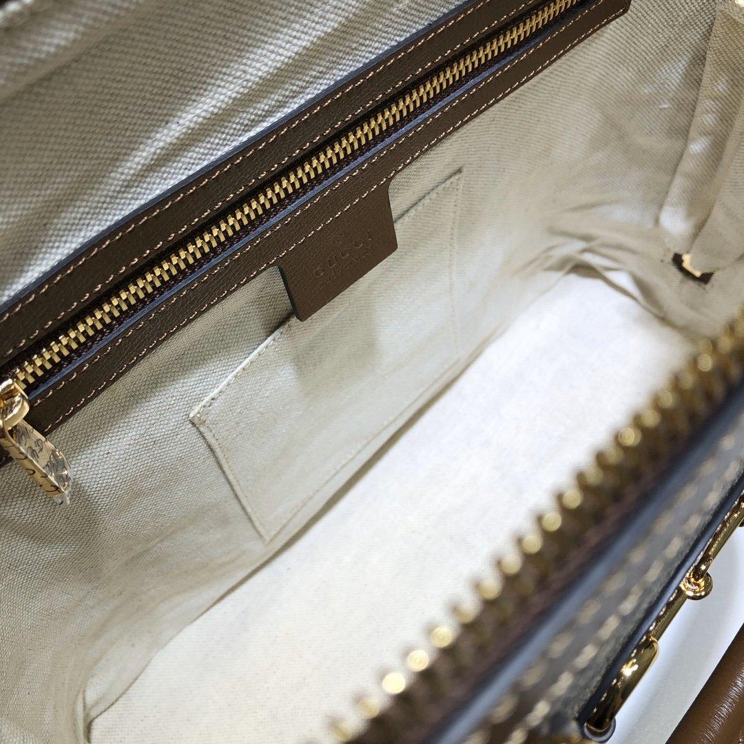 GUCCI专柜品质,顶级原单货,实物实拍!620850啡棕(图9)