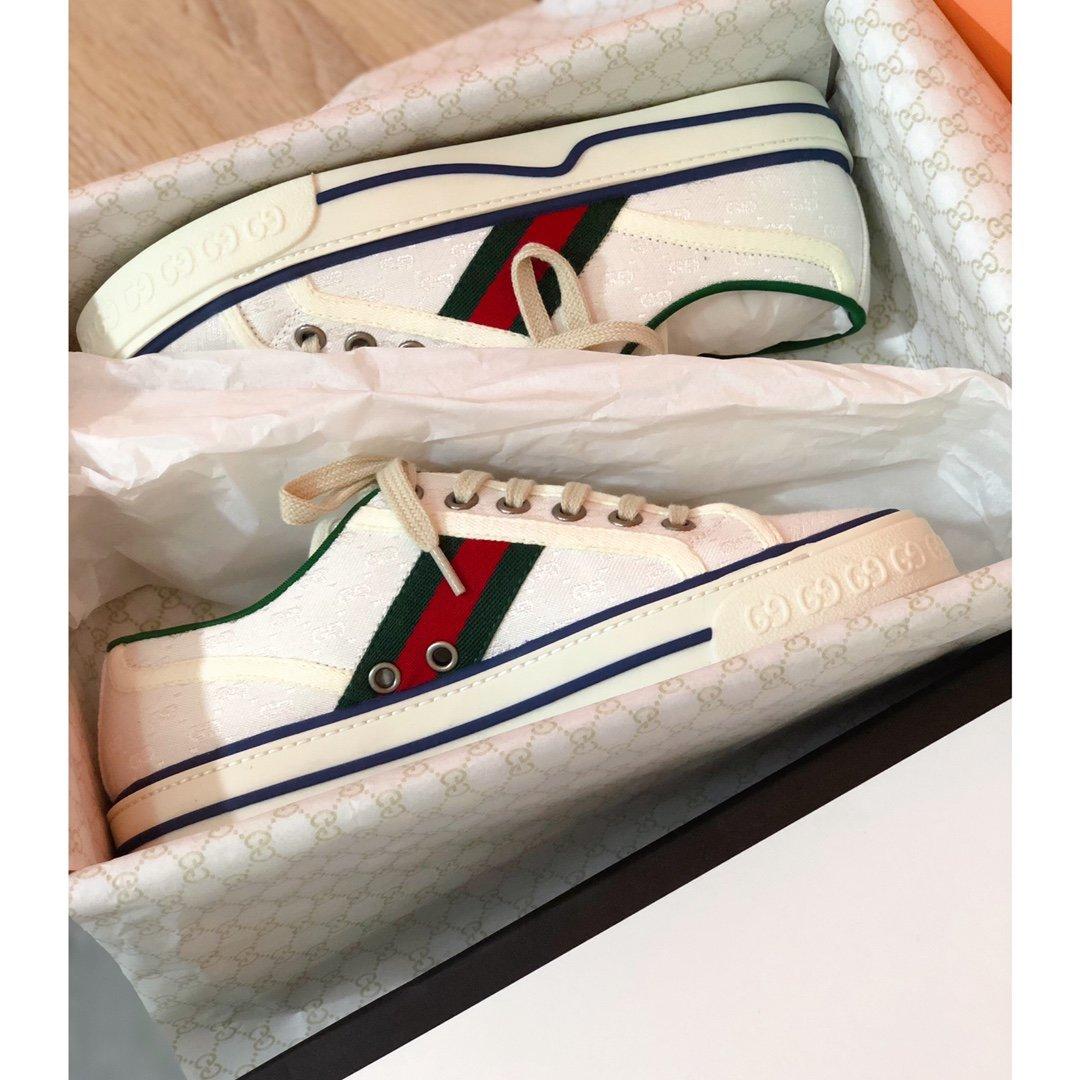 Gucci tennis 1977 经典系列帆布鞋