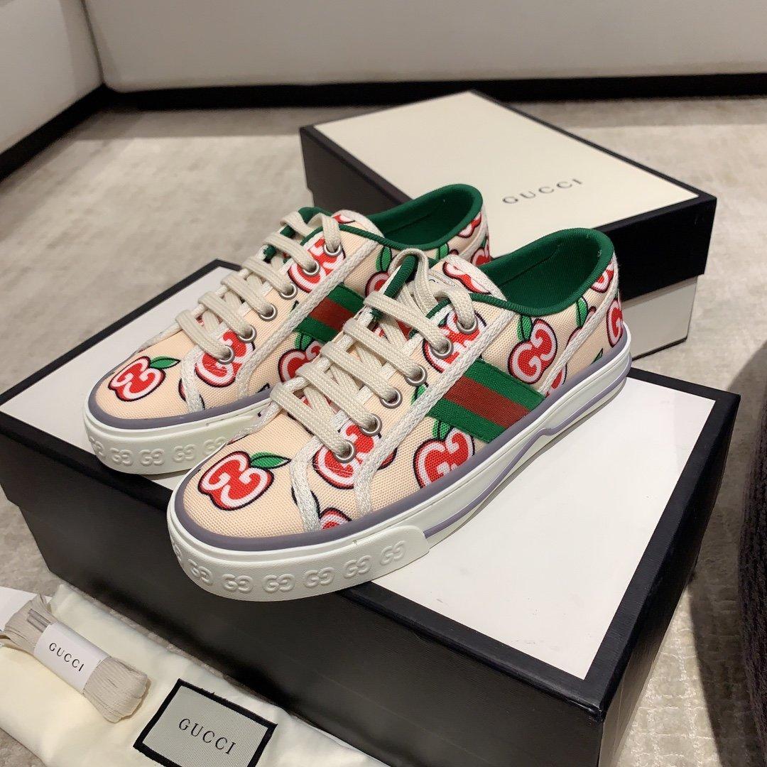 Gucci 代购品质2020早春爆款帆布女鞋(图11)