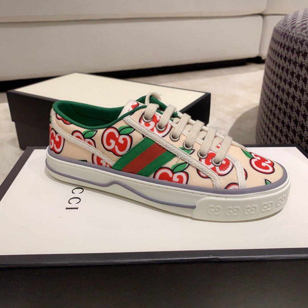 Gucci 代购品质2020早春爆款帆布女鞋(图12)