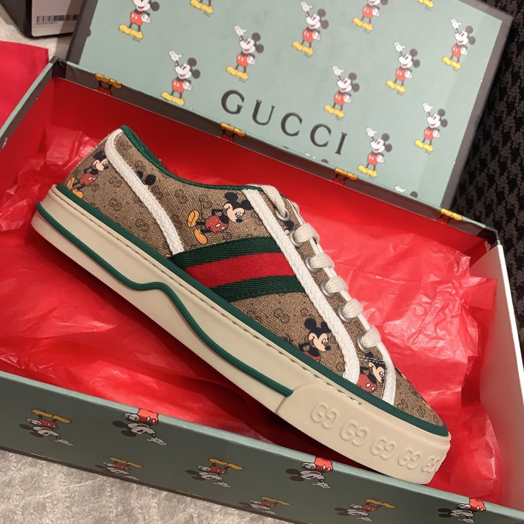 Gucci 代购品质2020早春爆款帆布女鞋(图15)
