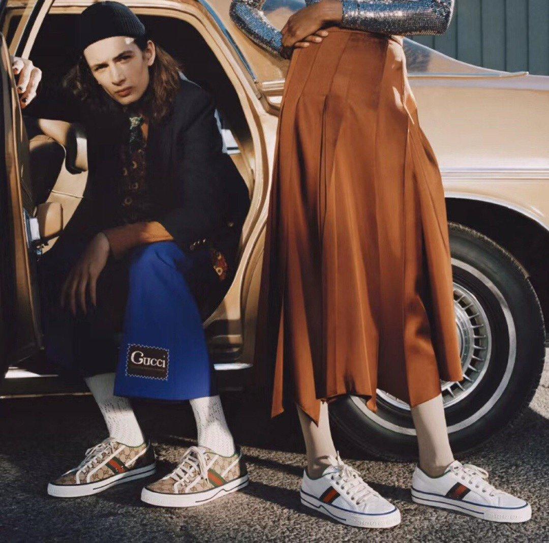 Gucci 代购品质2020早春爆款帆布女鞋(图4)