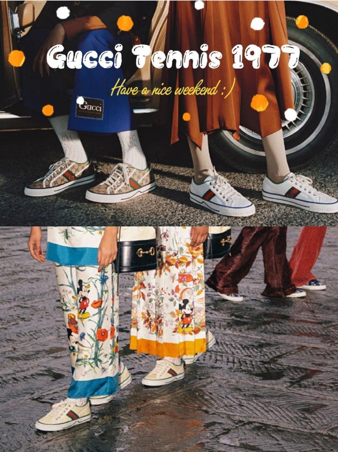 Gucci 代购品质2020早春爆款帆布女鞋(图2)