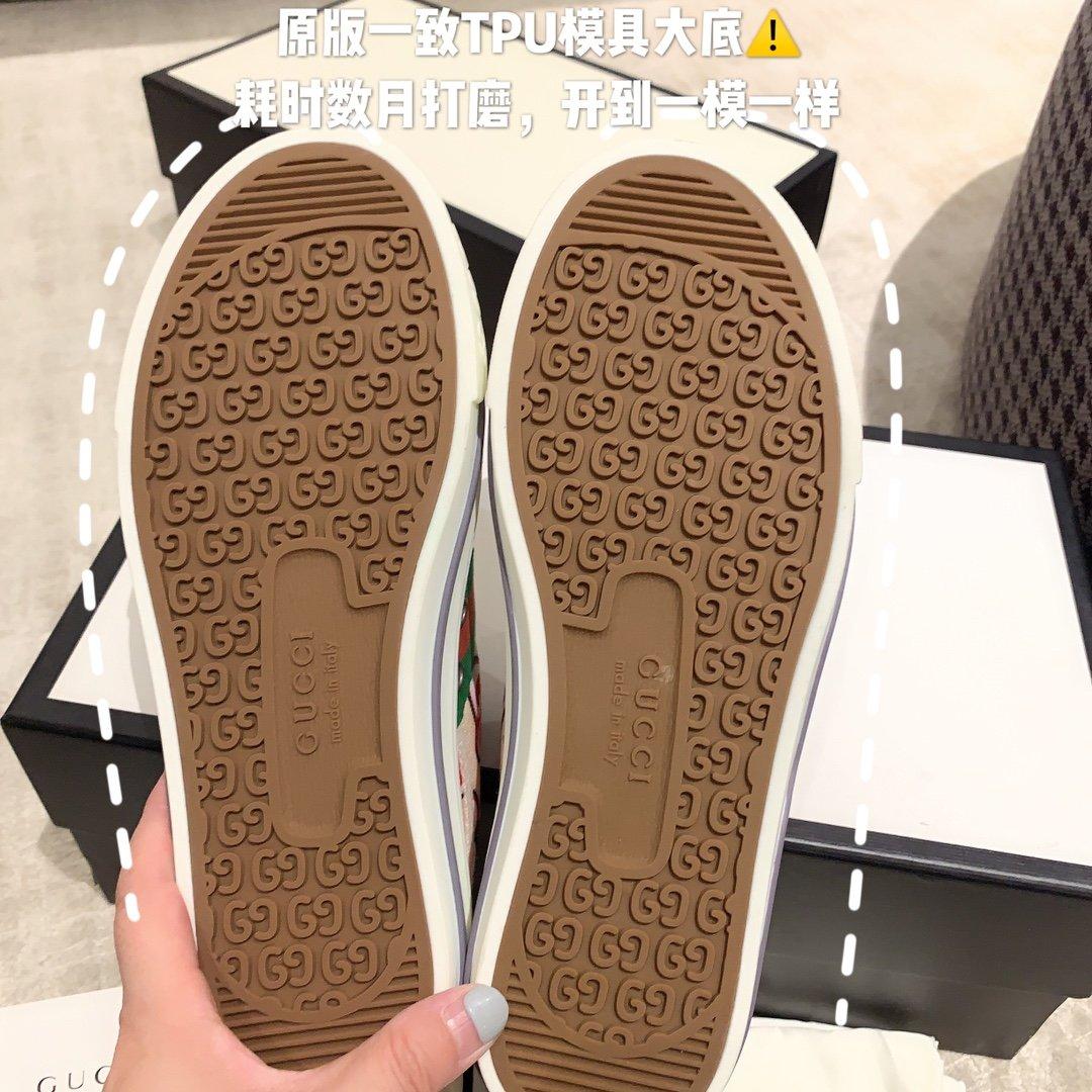 Gucci 代购品质2020早春爆款帆布女鞋(图10)