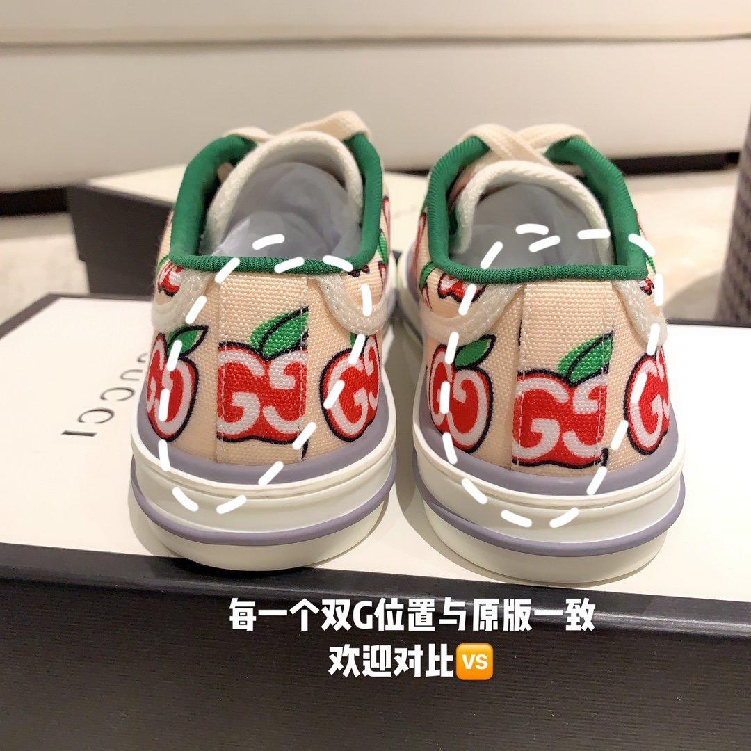 Gucci 代购品质2020早春爆款帆布女鞋(图9)