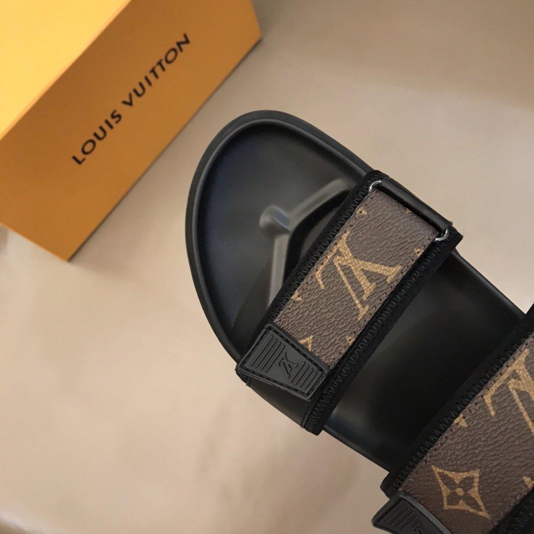 Lv牌奢品男士凉鞋高端精品原版材质精