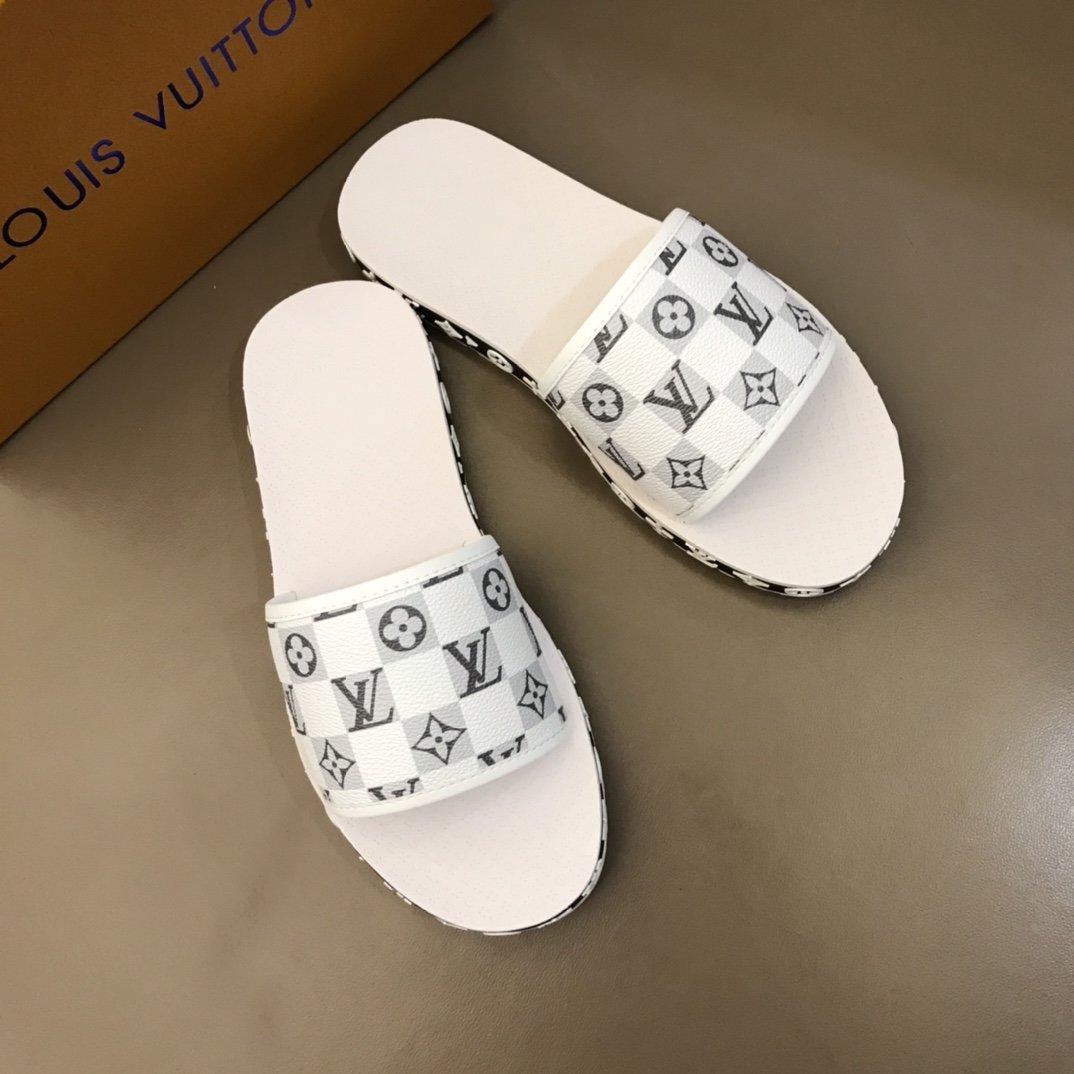 Lv牌奢品男士拖鞋高端精品原版材质精