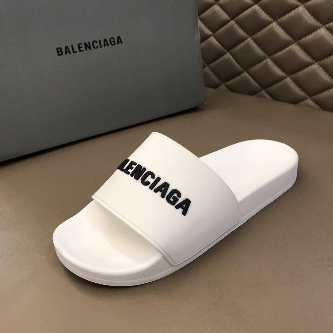 BALENCIAGA夏季情侣时尚拖鞋