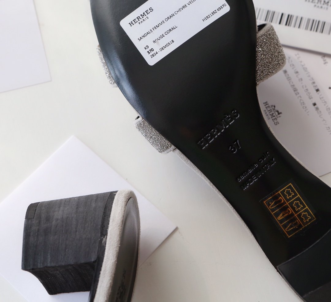 Hermes顶级版本 爱马仕经典Oran拖鞋(图12)