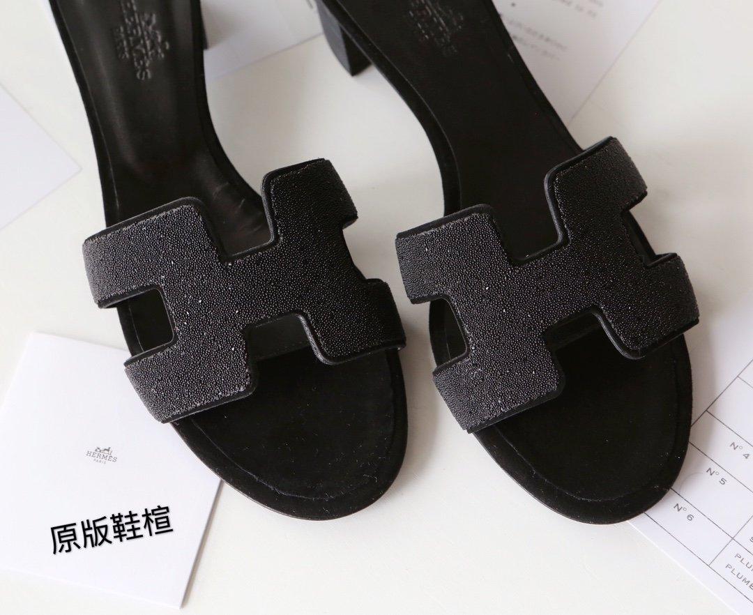 Hermes顶级版本 爱马仕经典Oran拖鞋(图14)