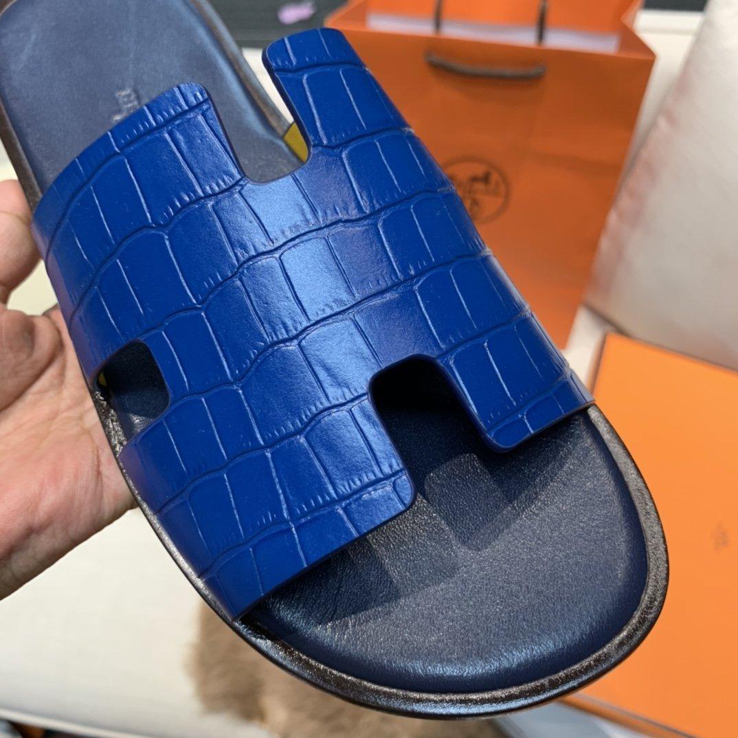 最新升级版swift皮男士潇洒H拖鞋