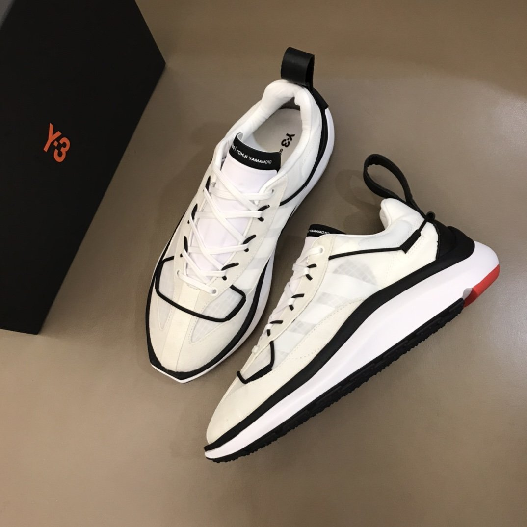 Y3夏季新款跑鞋,这款Y-3最新推出