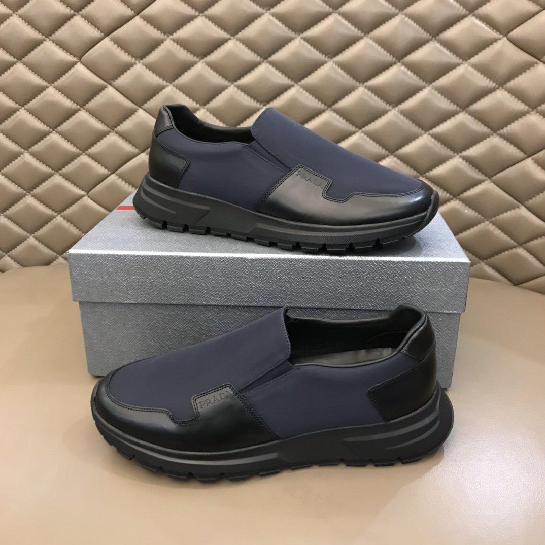 Prada家2020专柜经典休闲鞋新