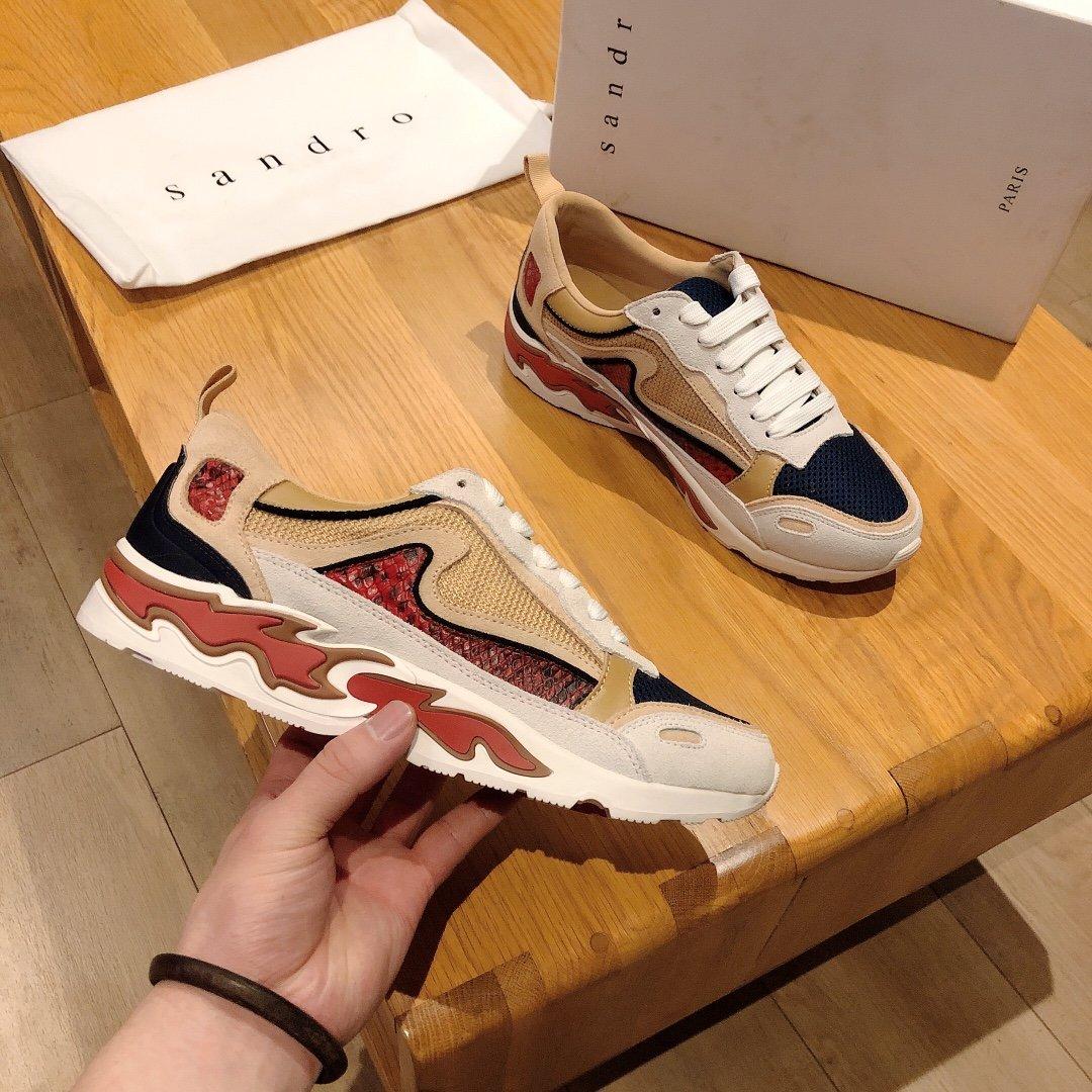 Sandro系列情侣款运动鞋2020