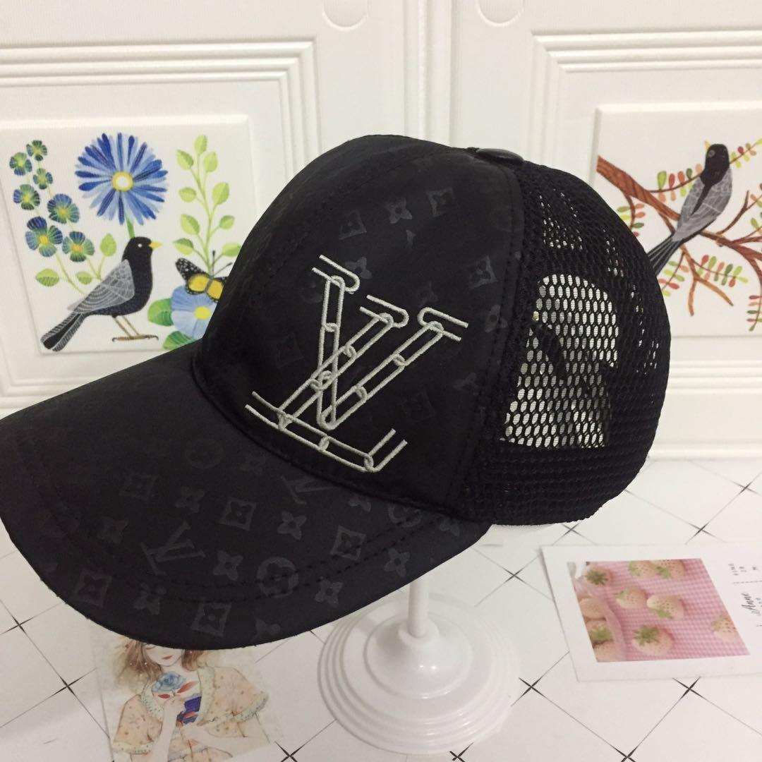 LV高端网状棒球帽 男女通用