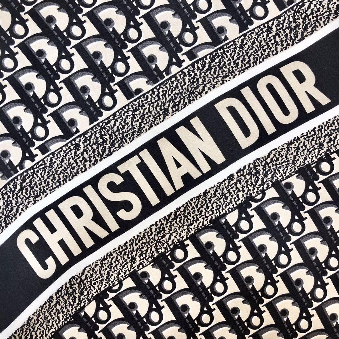 Dior新款丝巾重磅推荐桑蚕真丝Dior第一名主打丝巾(图5)