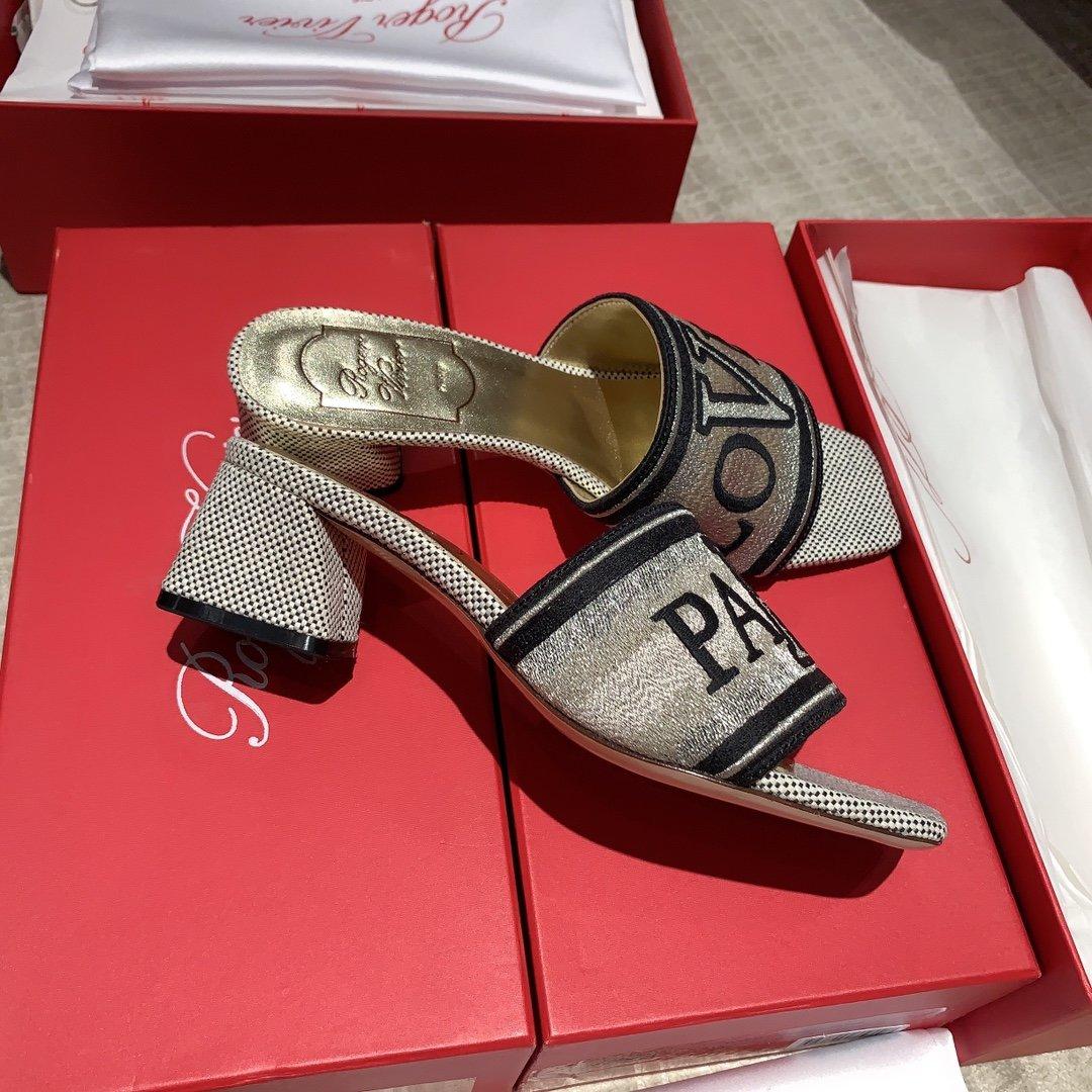 Roge Vivie20ss新款拖鞋 专柜同款(图6)