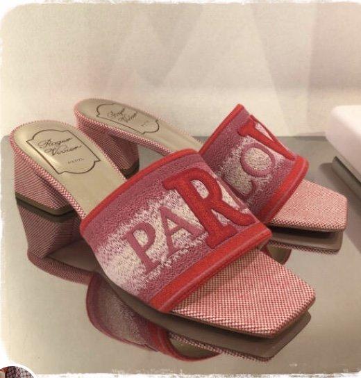 Roge Vivie20ss新款拖鞋 专柜同款(图3)