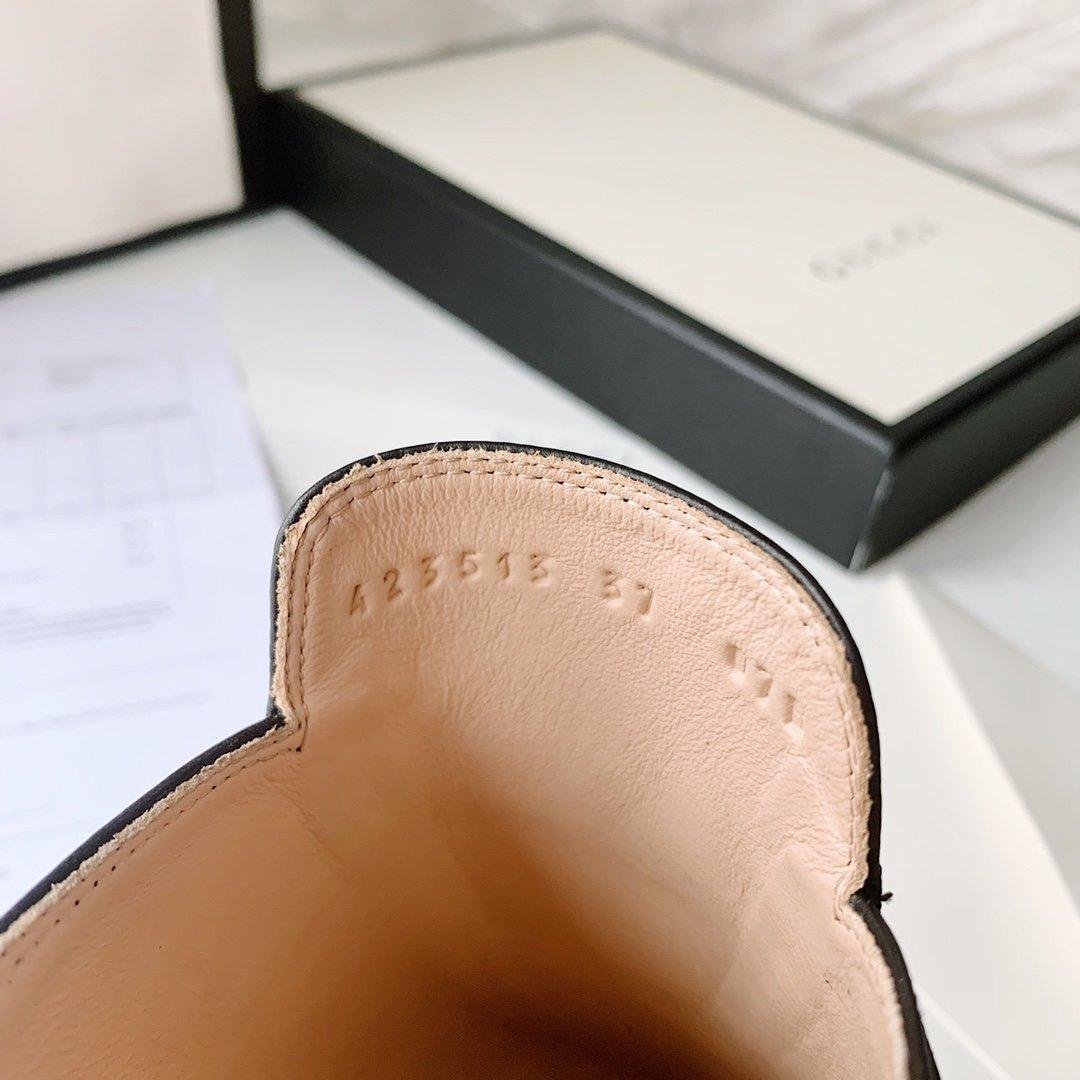 Gucci 2020早秋系列 穆勒鞋红蓝织带(图10)