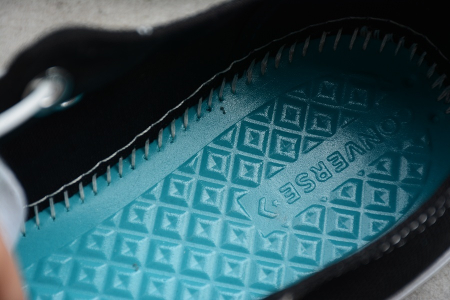💰240 匡威低帮 叠标黑色166738C  男女鞋