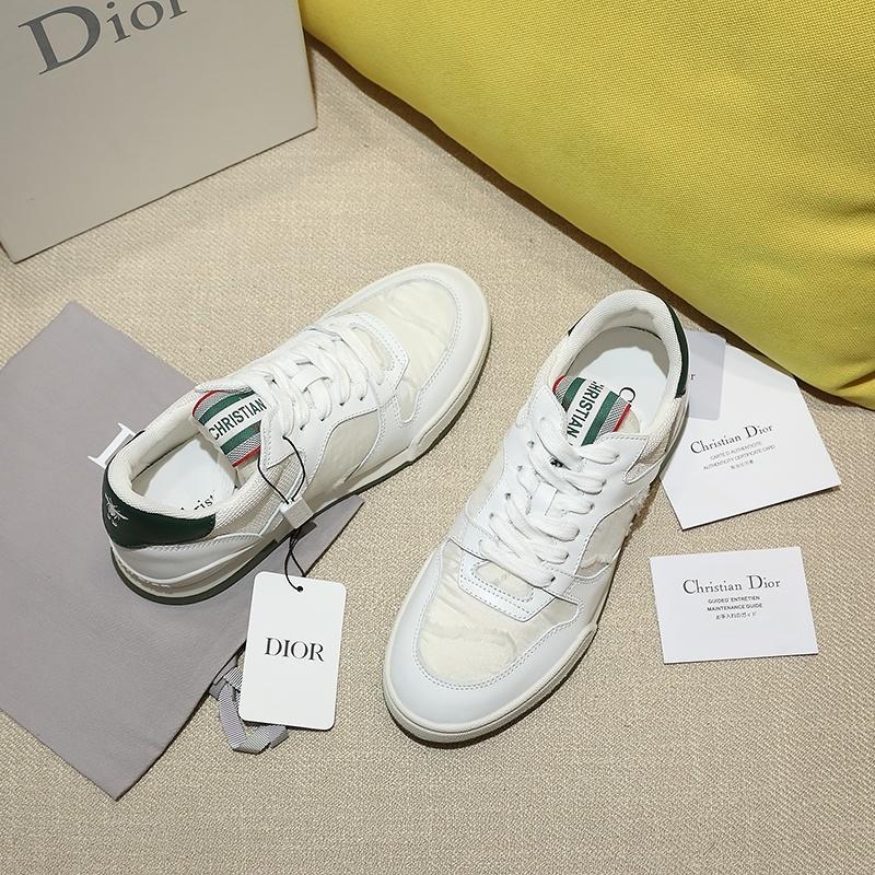 2020 Dior TRAVEL尼龙刺绣迷彩系列运动鞋、 Angelababy代言同款 (图4)