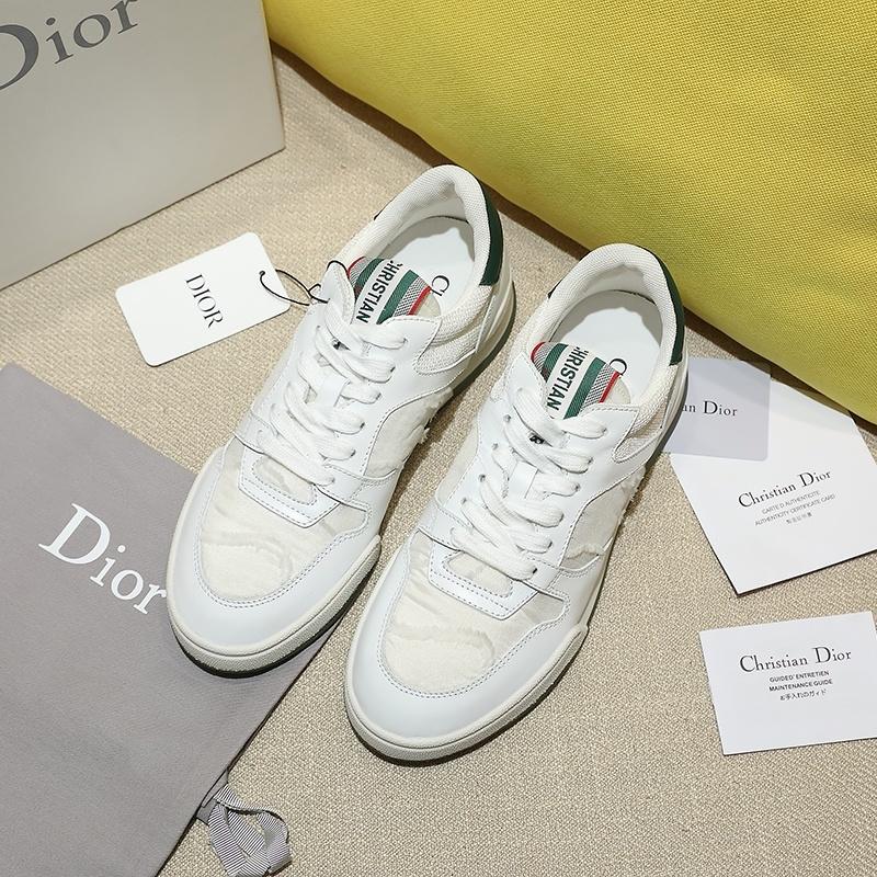 2020 Dior TRAVEL尼龙刺绣迷彩系列运动鞋、 Angelababy代言同款 (图6)