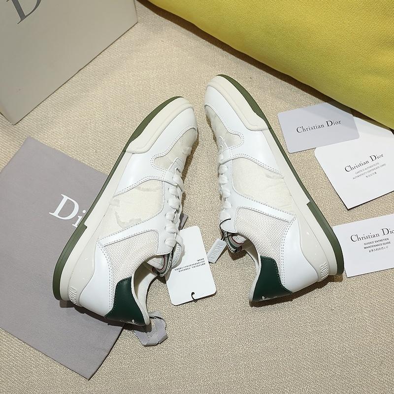 2020 Dior TRAVEL尼龙刺绣迷彩系列运动鞋、 Angelababy代言同款 (图7)
