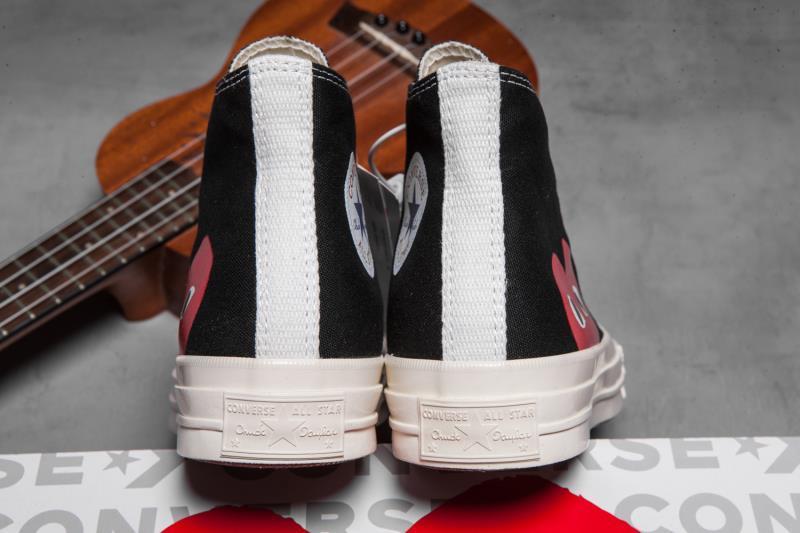 🌈185 #过毒版本#2020官方最新版鞋盒  川久保玲 黑高 35 36 36.5 37 37.5 38 39 38.5 40 41 41.5 42 42.5 43 44