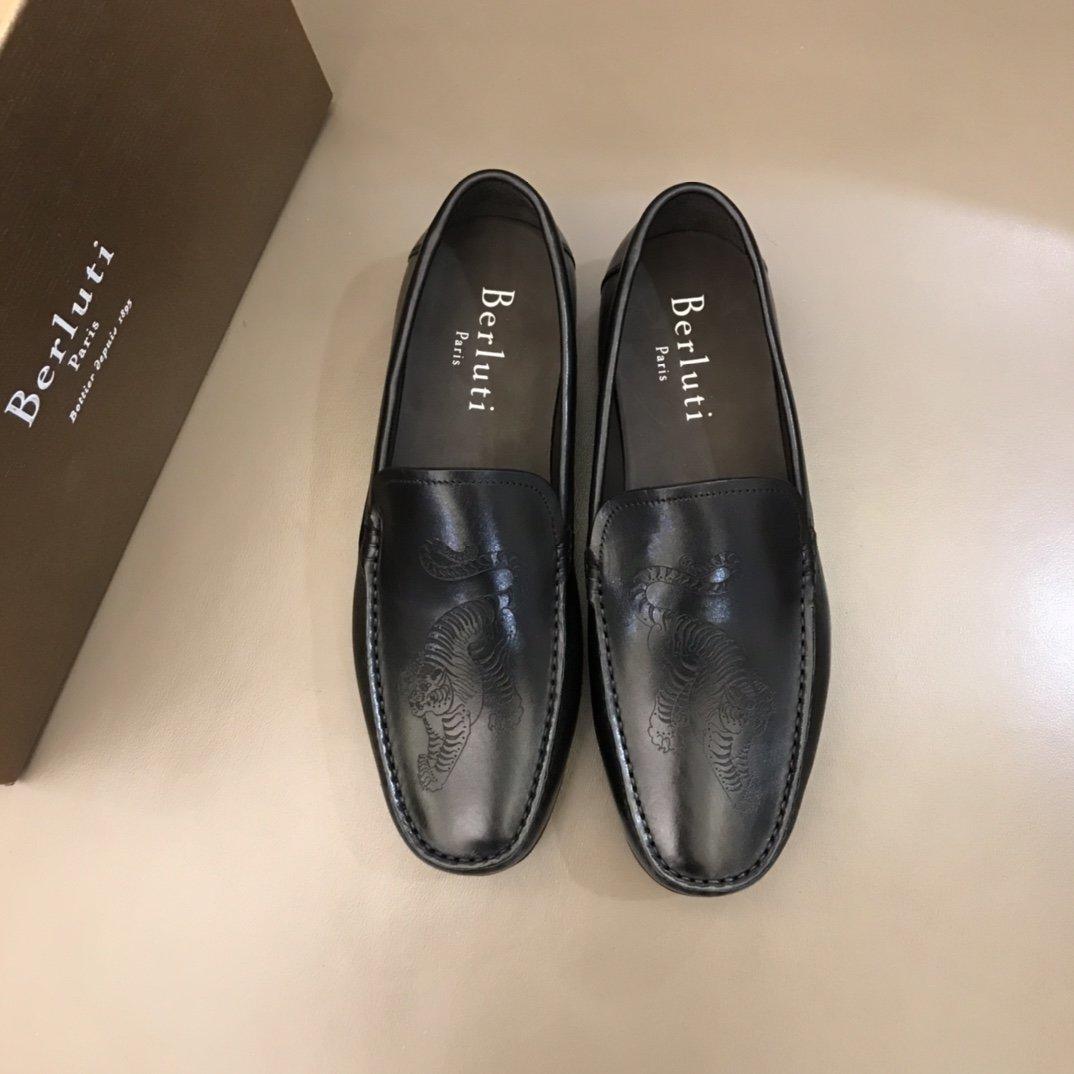 Berluti.男士商务休闲皮鞋进口