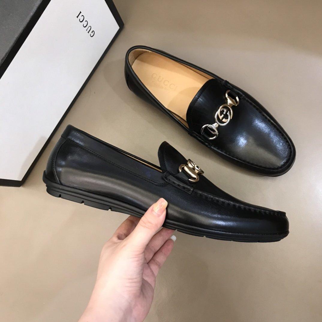 Gucci家男士高端精品休闲鞋进口小