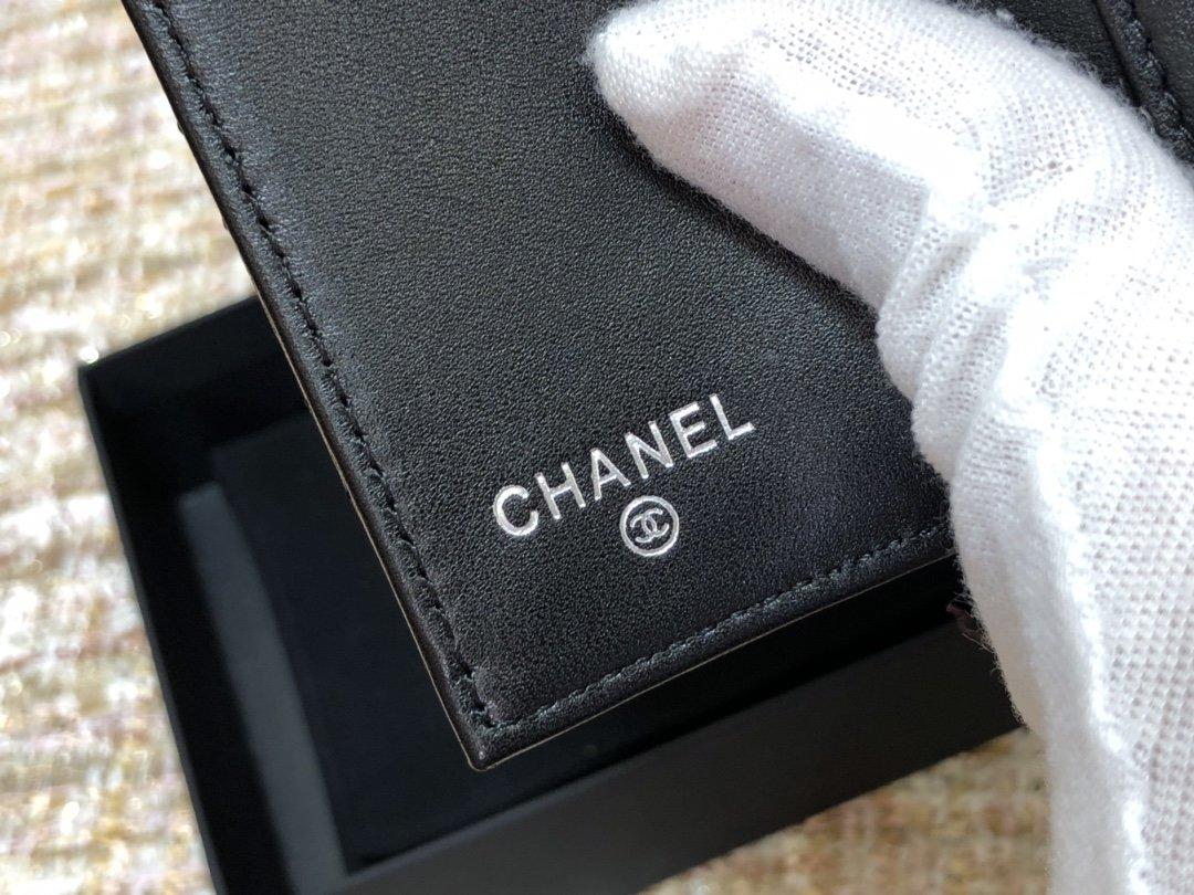 Chanel新款式 经典短夹(图8)