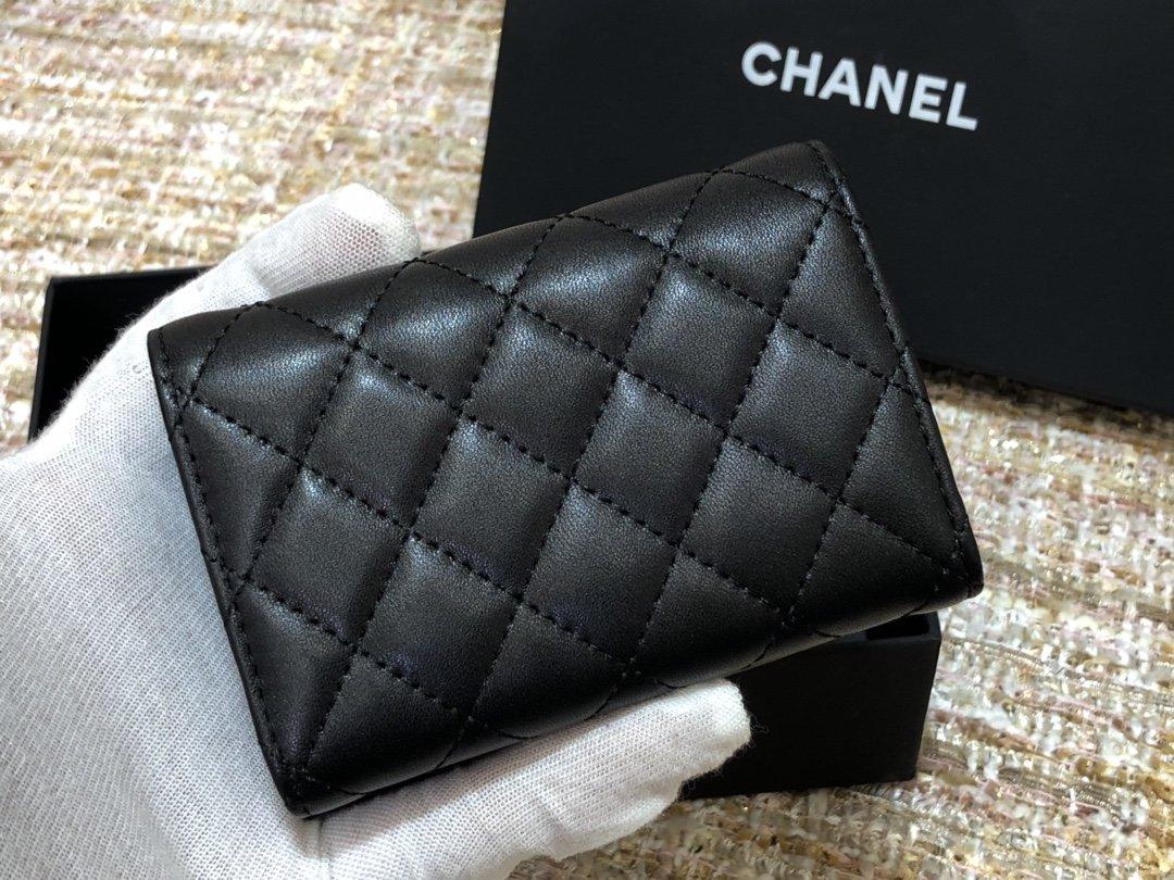 Chanel新款式 经典短夹(图5)