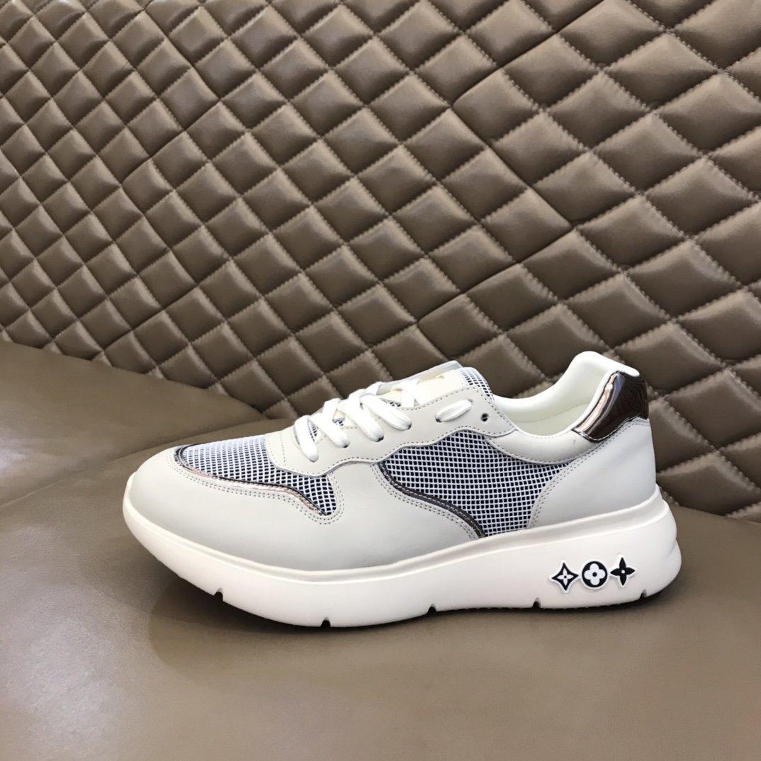 LV经典男士休闲运动鞋这款单品自重非
