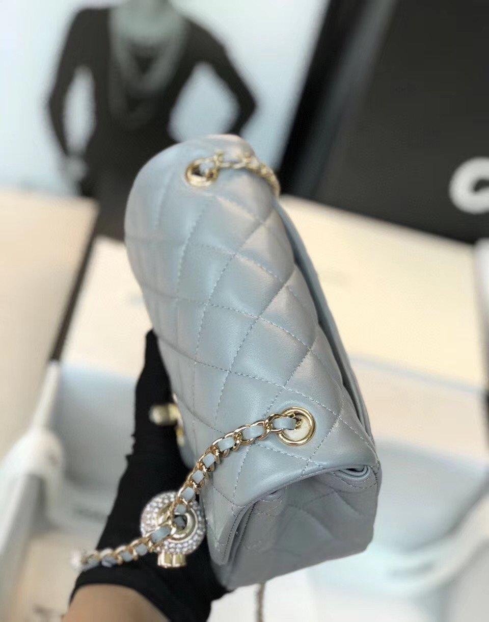 Chanel香奈儿专柜最新钻珠cf款(图5)