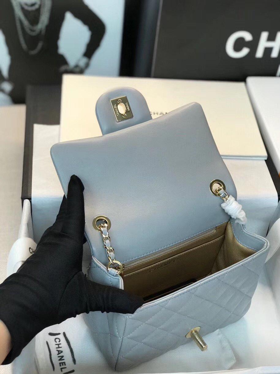 Chanel香奈儿专柜最新钻珠cf款(图9)
