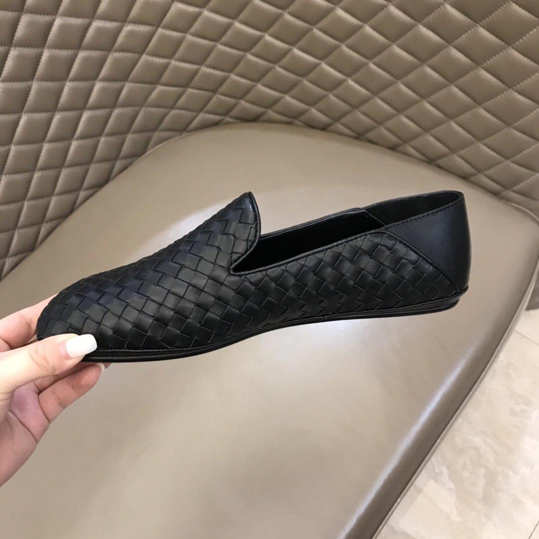 BV原单经典平底单鞋意大利进口真皮大
