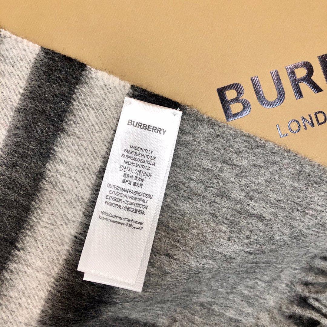 高版本 Burberry披肩  羊绒复古英伦风(图5)