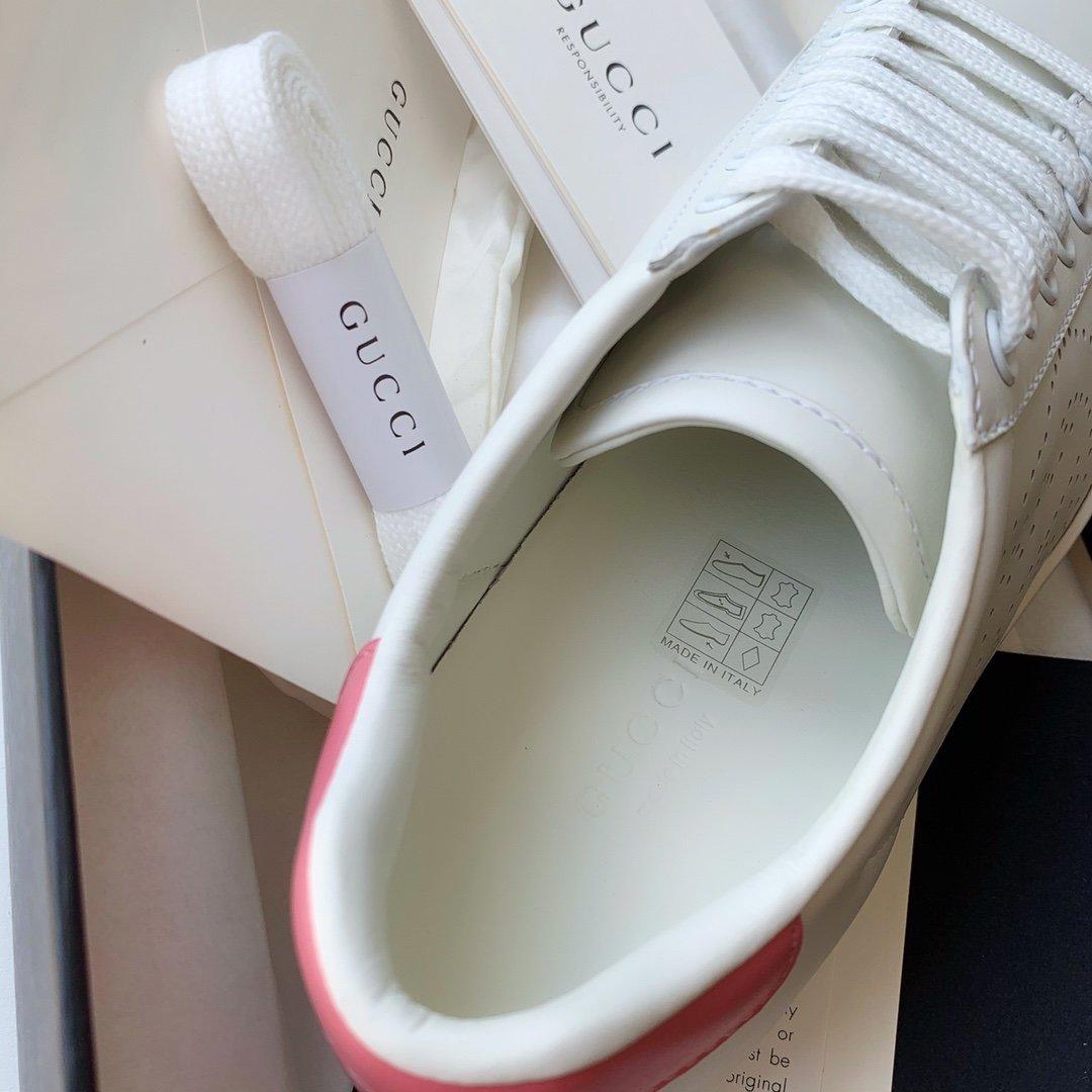 Gucci Ace小白鞋经典Ace运动鞋(图7)