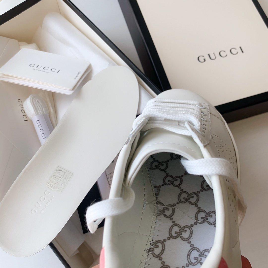 Gucci Ace小白鞋经典Ace运动鞋(图8)
