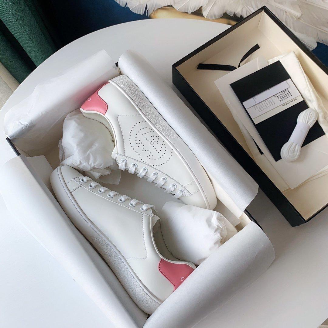 Gucci Ace小白鞋经典Ace运动鞋(图3)