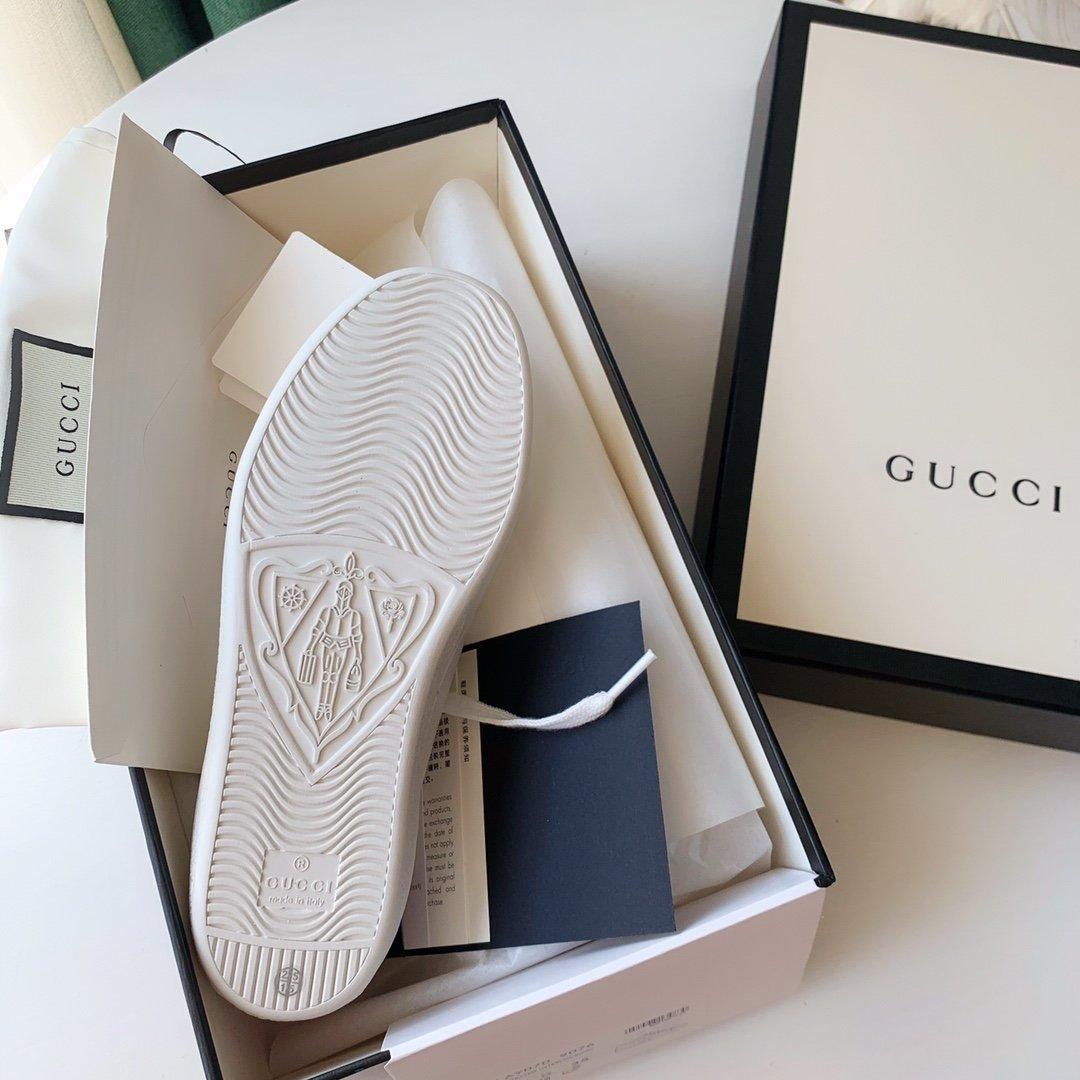 Gucci Ace小白鞋经典Ace运动鞋(图9)