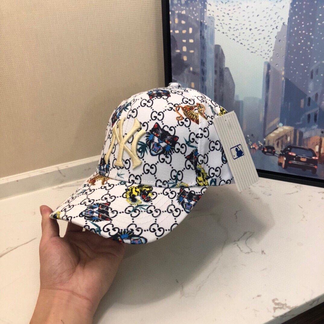 GUCCI 古奇彩色爆款专柜款棒球帽NY联盟专柜品质(图3)