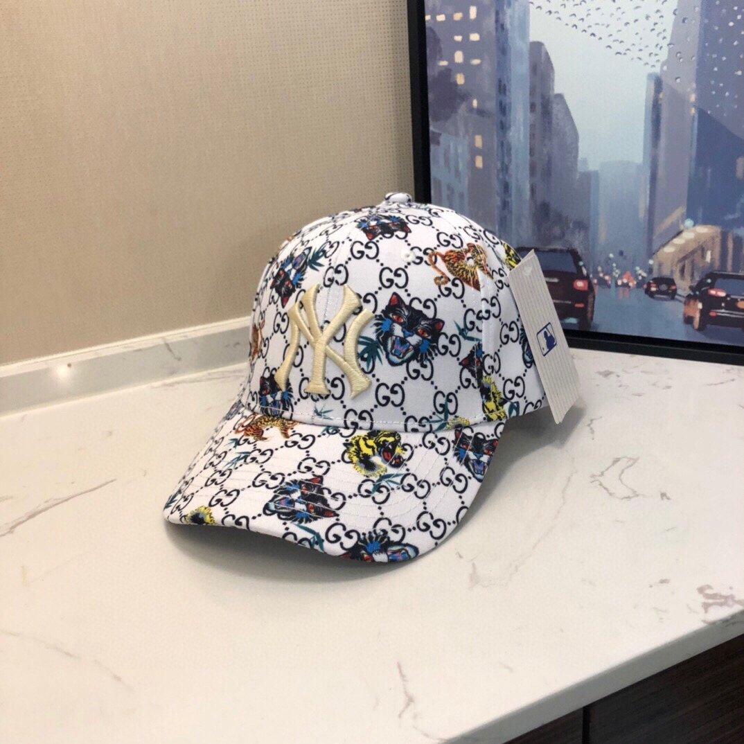 GUCCI 古奇彩色爆款专柜款棒球帽NY联盟专柜品质(图2)