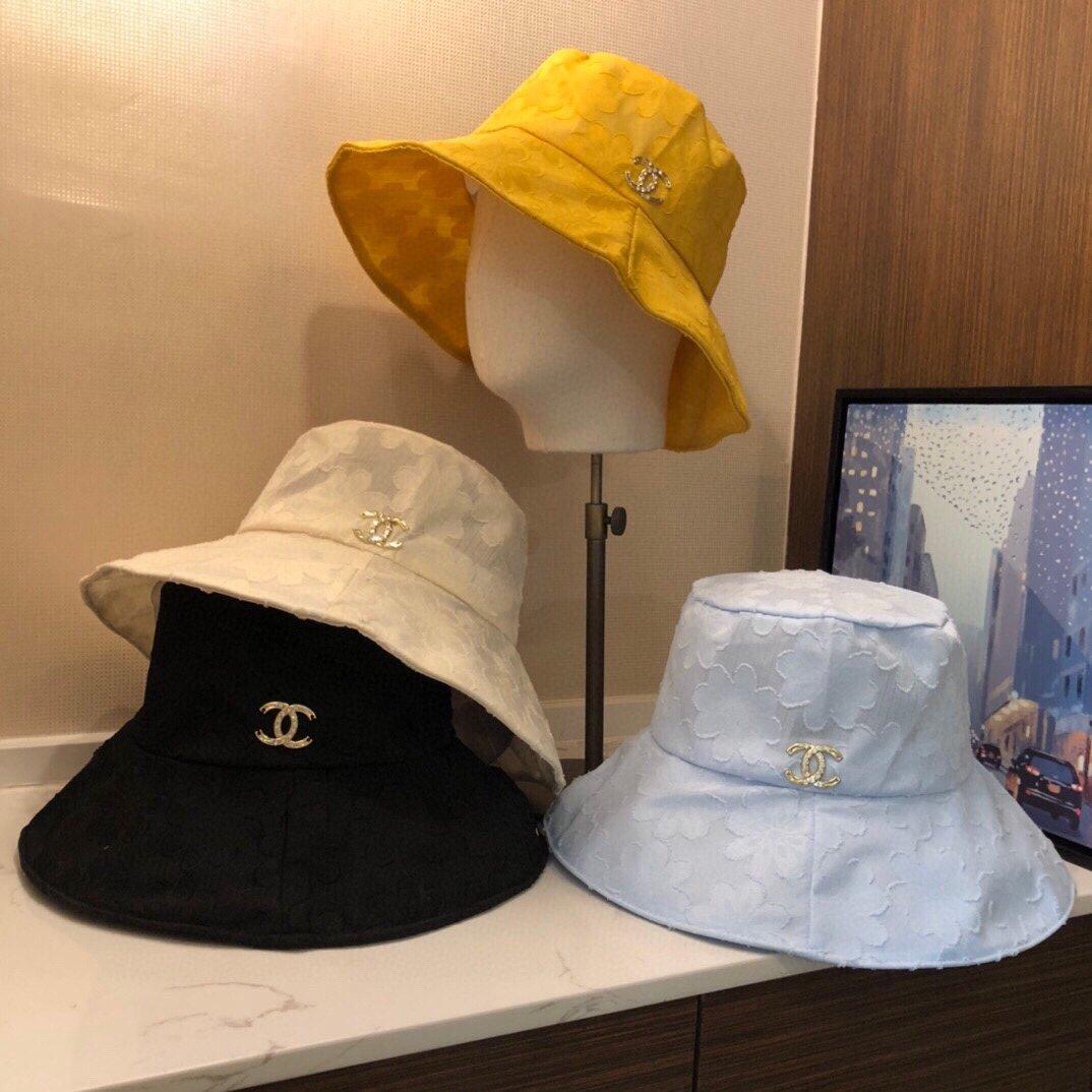 Chanel香奈儿新品渔夫帽专柜官网同款